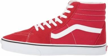 Vans SK8-Hi - Racing Red/True White (VN0A4BV6JV6)