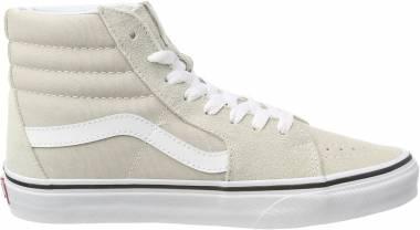 Vans SK8-Hi - Beige Silver Lining True White Qa3