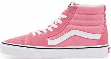 Vans SK8-Hi - Strawberry Pink / True White