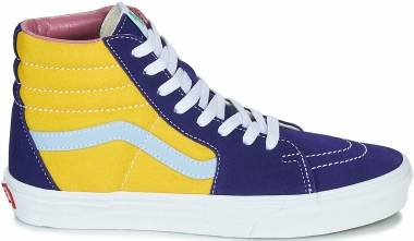 Vans SK8-Hi - Multi / True White / Blue (VN0A4U3CWNY)