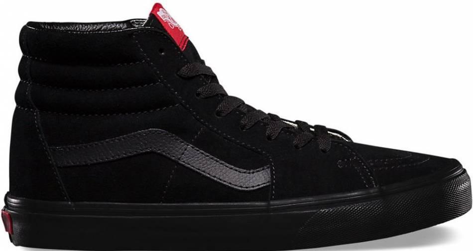 vans all black sneakers