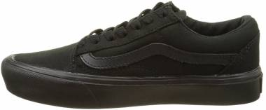 Vans Old Skool Lite Black ((Canvas) Black/Black 186) Men