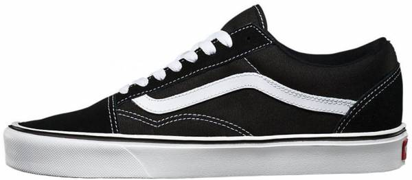 Vans Old Skool Lite - Black ((Suede/Canvas) Black/White Iju)