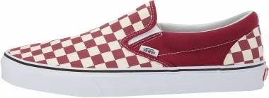 Vans Checkerboard Slip-On - Red