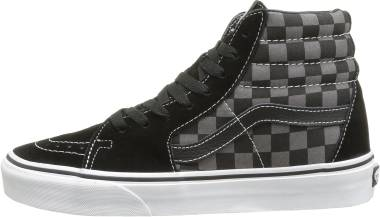 Vans Checkerboard SK8-Hi - Black Pewter Checkerboard