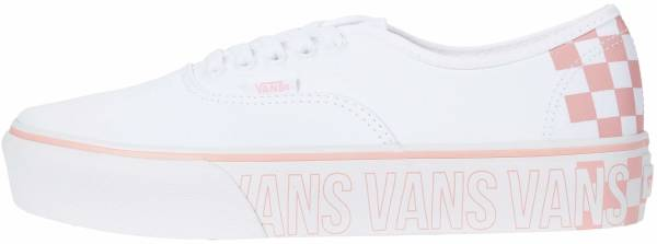 Vans Authentic Platform 2.0 - True White / Multi (VN0A3AV8AHP)