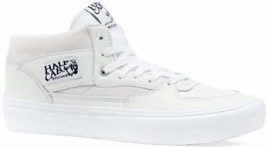 Vans Half Cab Pro Men's Suede Canvas Mid Top Skateboard Shoes Size 7