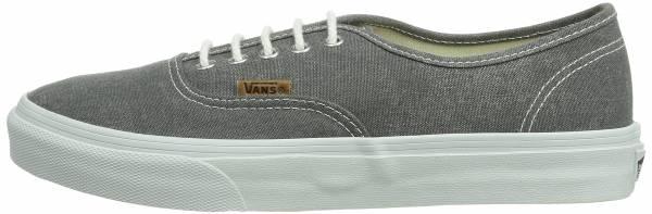 Vans Washed Authentic Slim Grau ((Washed) Quiet / Dvg)