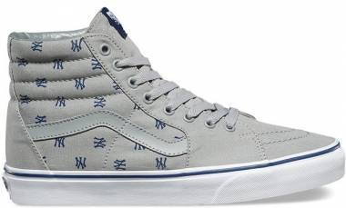 Vans MLB SK8-Hi - Heather Grey/Yankees Print
