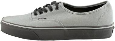 Vans Black Sole Authentic Grey Men
