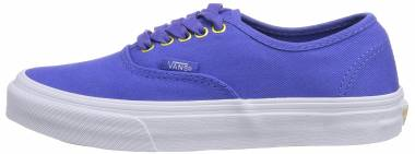 Vans Authentic Slim Blau ((Gold Pop) Twil Es2) Men