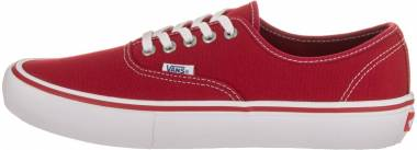 Vans Authentic Pro Scarlet / White Men