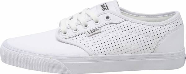 Vans Atwood Perf Leather - White/White