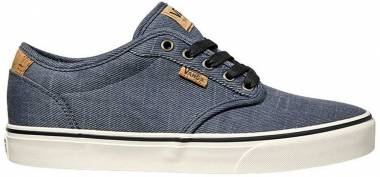 Vans Atwood Deluxe - Azul Washed Twill Navy Marshmallow