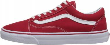 Vans Canvas Old Skool Red Men