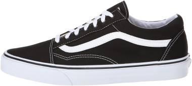 Vans Canvas Old Skool - (CANVAS) BLACK/TRUE WHITE (VN000ZDF1WX)