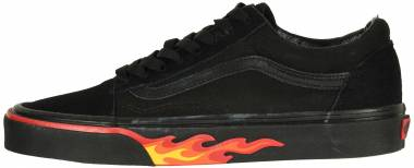 Vans Flame Wall Old Skool - Black/Black