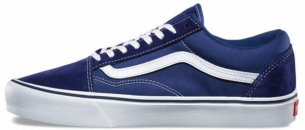 2b6a64e2ce0 Vans Canvas Old Skool Lite Blue