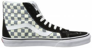 Vans Checkerboard SK8-Hi Reissue - Grey