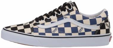 Vans Checkerboard Old Skool - Navy (VN0A4U3BWRT)