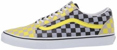 Vans Checkerboard Old Skool - (Suede) Multi Check/True White (VN0A4U3BXF9)