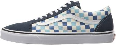 Vans Checkerboard Old Skool - Blue Topaz (VN0A38G1QCM)