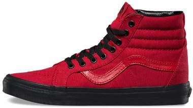 Vans Black Outsole SK8-Hi Reissue - Red
