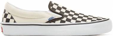 Vans Checkerboard Slip-On Pro - Checkerboard Black/ Off White (VN0A347VAPK)