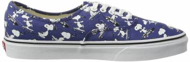 Vans x Peanuts Authentic - Blue (Snoopy/Skating (Peanuts)) (VN0A38EMOQW)