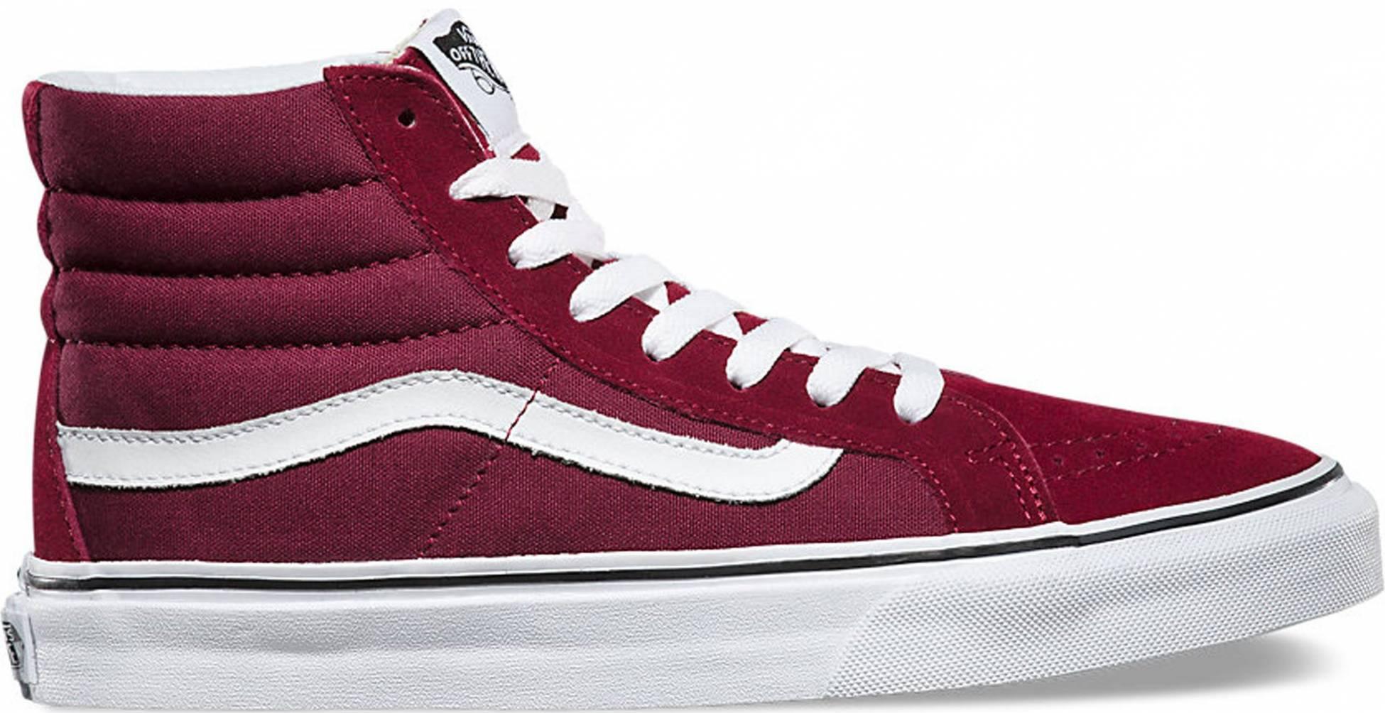 agenda unir cebra  Vans Vintage SK8-Hi Reissue sneakers in black + red (only $49) | RunRepeat
