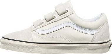Vans Suede Canvas Old Skool V - Marshmallow/Turtledove (VN0A3D29R2S)