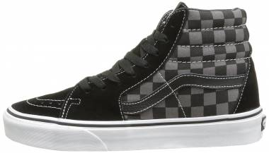 Vans SK8-Hi Core Classics - Black/Pewter Grey/Checkerboard