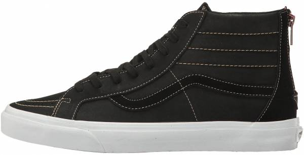 Vans Premium Leather SK8-Hi Reissue Zip - Black