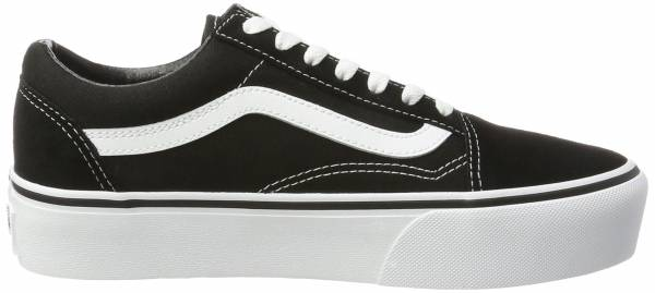 4a301e2cbe5 Vans Old Skool Platform Black