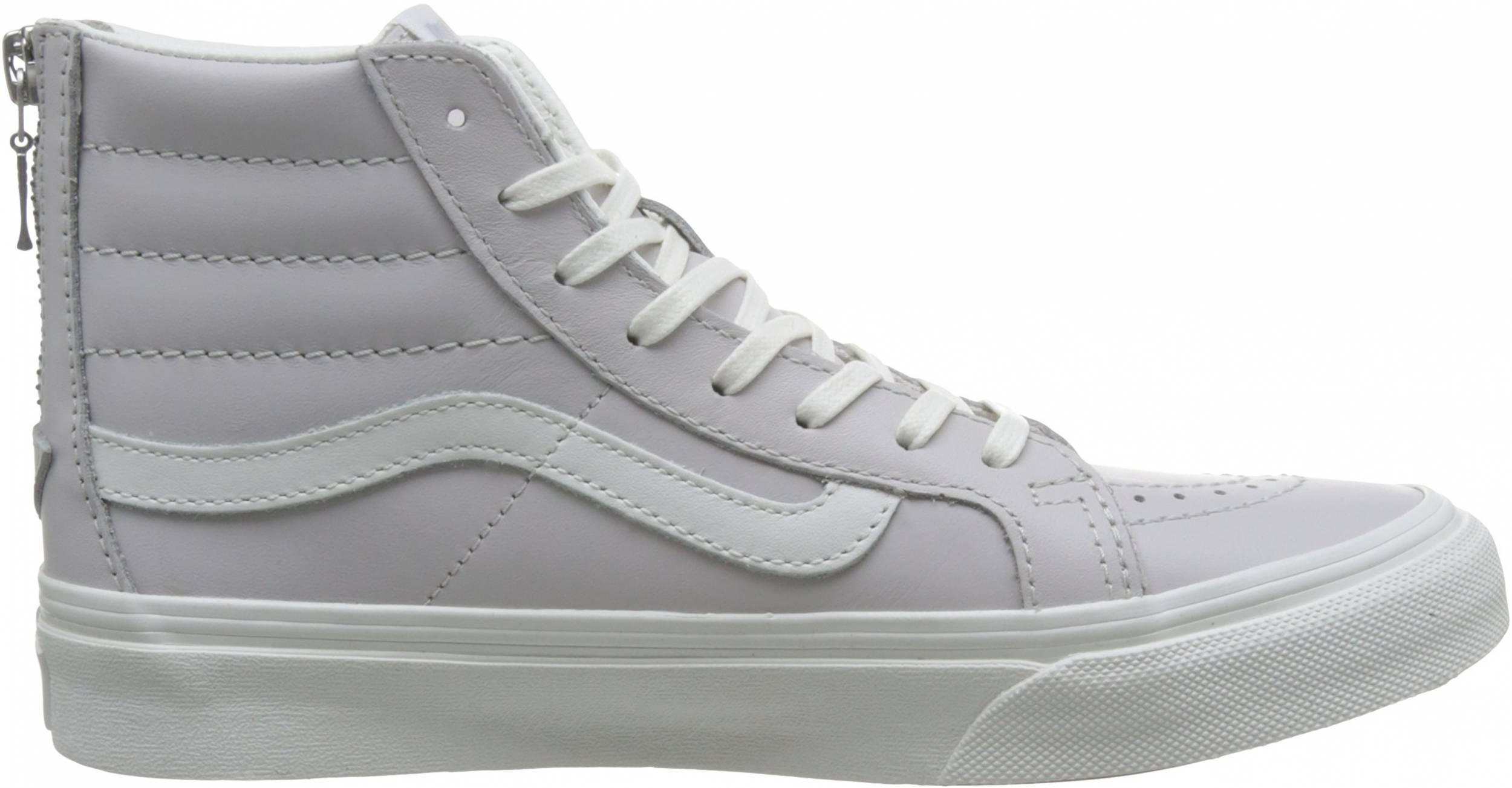 Vans Leather SK8-Hi Slim Zip