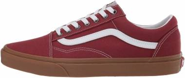 Vans Gum Old Skool - Red (VN0A4U3BWZ01)