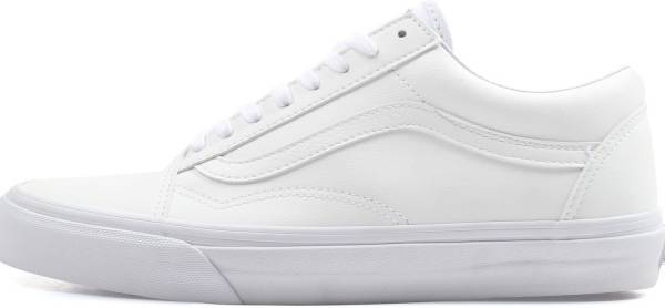 all white with vans