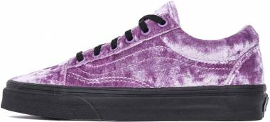 Vans Velvet Old Skool - Purple (VN0A38G1QW9)