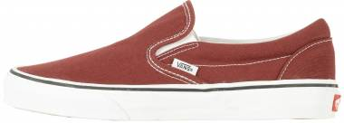 Vans Slip-On Madder Brown / True White Men