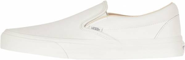 Vans Leather Slip-On - Blanc De Blanc