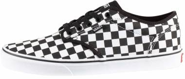 Vans Checkerboard Atwood - Black Checkerboard Black White 5gx (VN0A327L5GX)