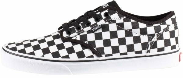 Vans Checkerboard Atwood Black ((Checkerboard) Black/White 5gx)
