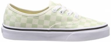 Vans Checkerboard Authentic Green Men