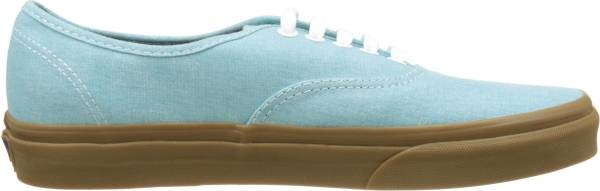 Vans Washed Canvas Authentic - Blue ((Washed Canvas) Blue Radiance/Gum)