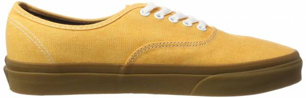 Vans Washed Canvas Authentic - Yellow