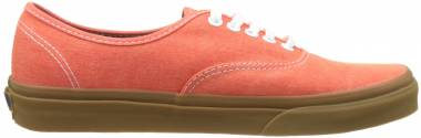 Vans Washed Canvas Authentic - Orange (VA38EMMQS)