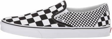 Vans Mix Checker Slip-On - Black ((Mix Checker) Black/True White Q9b)