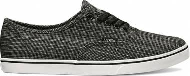 Vans Chambray Authentic Lo Pro black Men