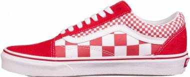Vans Mix Checker Old Skool - Chili Pepper
