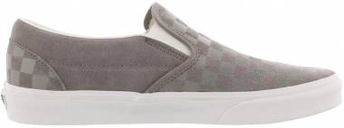 Vans Checker Emboss Slip-On - Grey